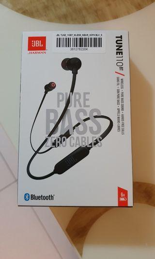 BNIB JBL Tune 110BT Wireless Earphone