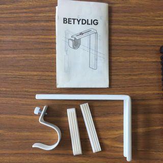 🚚 IKEA Betydlig White Wall/Ceiling Bracket