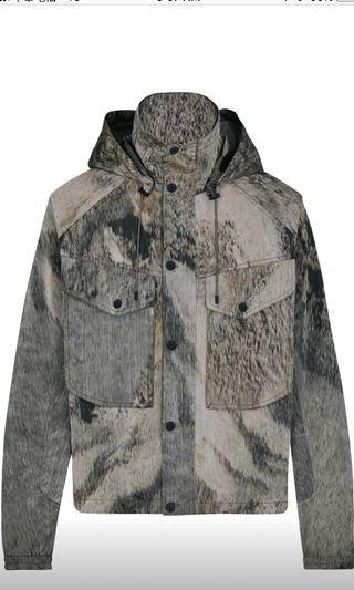 Louis Vuitton landscape 山脈外套 lv 極品 原價約12萬
