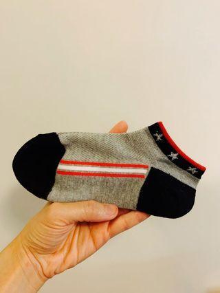 日本直送 短襪 船襪 女襪 灰 星星