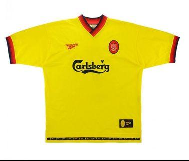 Authentic Liverpool 1997-99 Away Jersey