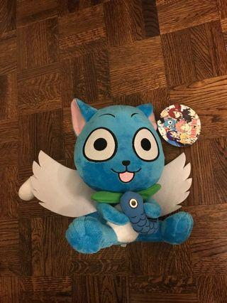 Happy Fairy Tail Plushie