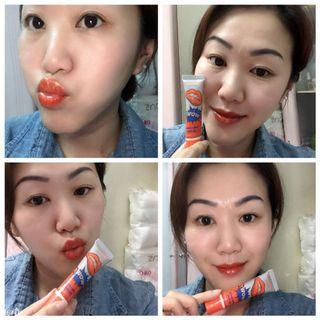 Lips long lasting color