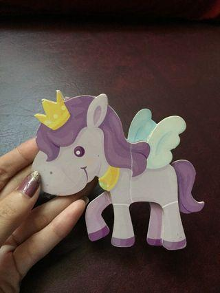 #mauthr unicorn sticker