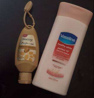 #mauthr Handbody Vaseline + Pantene petfect on