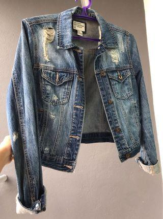 Forever 21 Jacket Jeans Outerwear