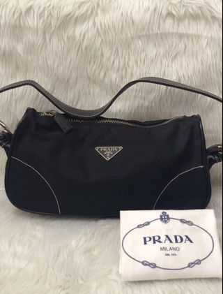 9e6368c77a8b99 authentic prada bag nylon | Bags & Wallets | Carousell Philippines