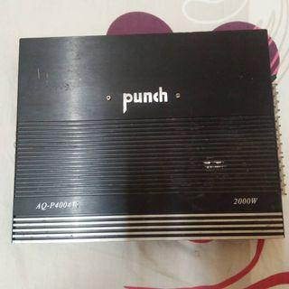 4 channel 2000W Punch Power Amp