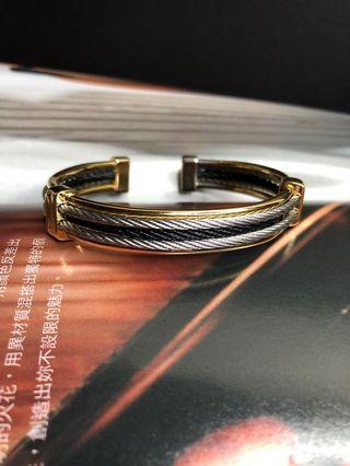 🚚 鋼索 手環 三色五環 免運費