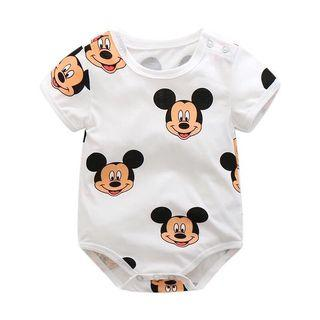 Baby Rompers Mickey Girl Boy