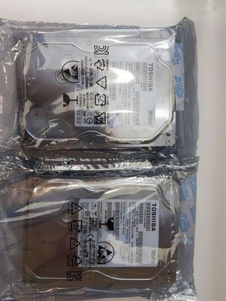 DESKTOP HDD 3.5 SATA 6GB, SIZE : 500GB , SPEED : 7200 RPM, 1 YEAR WARRANTY, Buy 1 Free 1