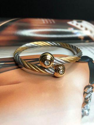 🚚 鋼索 手環 雙色 免運費