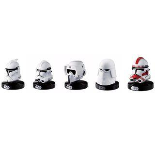 BANDAI STAR WARS : MINI HELMET REPLICA COLLECTION SERIES 2 SET ( 5 helmet in a SET )