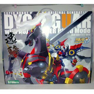 Super Robot War OG -DYGENGUAR with AUBENSEITER Pferd Mode (Kotobukiya) Rare Model Kit