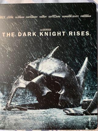 The Dark Knight Rises 藍光 鐵盒 中字