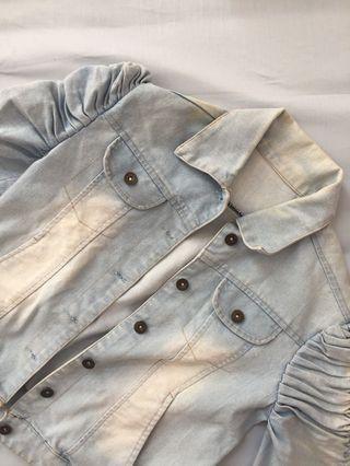 light denim outwear