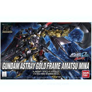 HG 1/144 Gundam Astray Gold Frame Amatsu Mina (Bandai Model Kit) - New