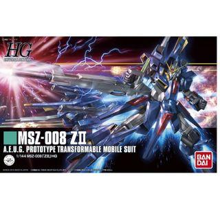 HGUC 1/144 Gundam ZII (Bandai Model Kit) - New