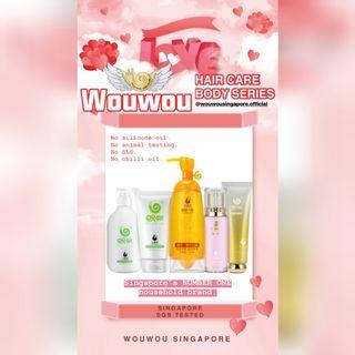 Wouwou Hair Care Body Series 👑