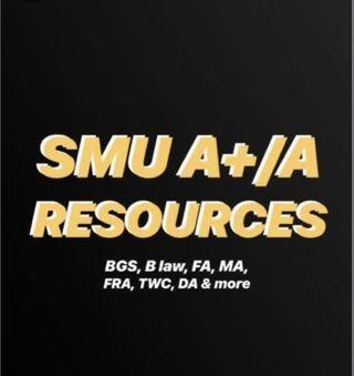 SMU A/A+ course materials