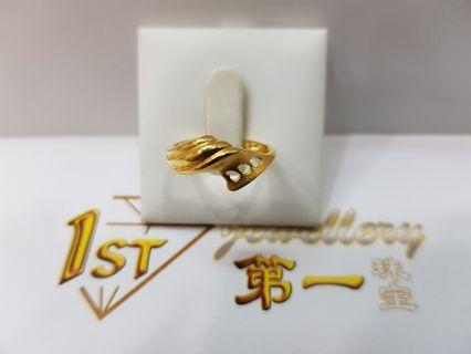 916 YELLOW GOLF RING