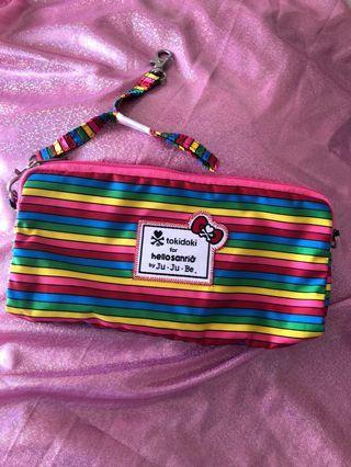 RARE Jujube rainbow stripes be set medium BNWT
