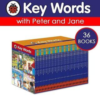 🎊🎉Keywords with Peter and Jane Books 🎊🎉 Promotion Price included postage🎉🎊