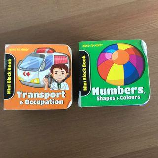 123 numbers and transport / Ladybird Books 2pc set