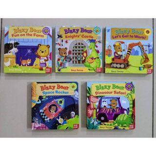 Bizzy Bear Pull and Push Board Book 5 books per set