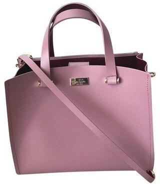 【專櫃正品】Kate Spade WKRU4197 淺粉色手提斜背包 肩背包