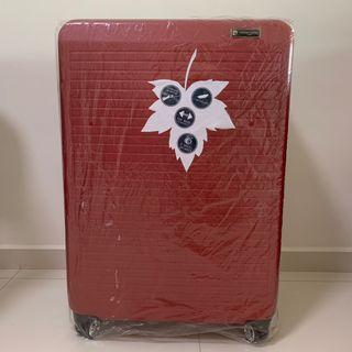 """Pierre Cardin 28"""" Red Luggage"""