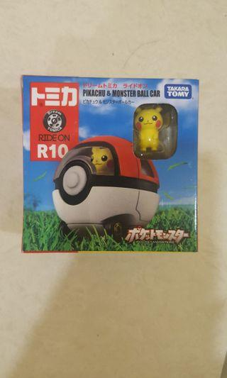 Pikachu & monster ball vehicle