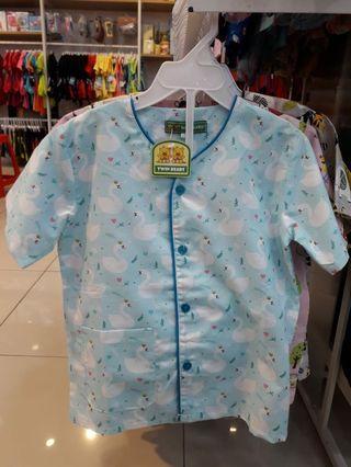 Baju tidur anak Twin Bears