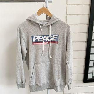 H&M Hoodie PEACE NOW