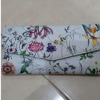 #mauthr dompet panjang flower hongkong