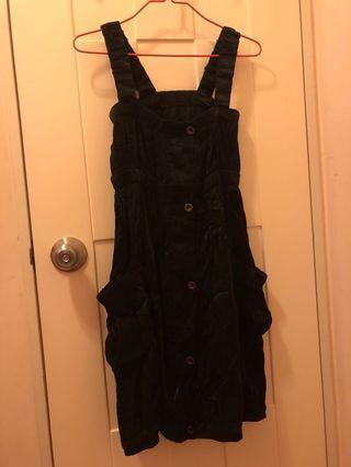 吊帶小黑裙 禮服裙 連身裙