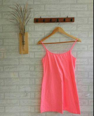 Dress neon + outer f21 #mauthr