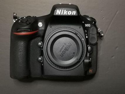 🚚 Nikon D810 body (price Fixed)
