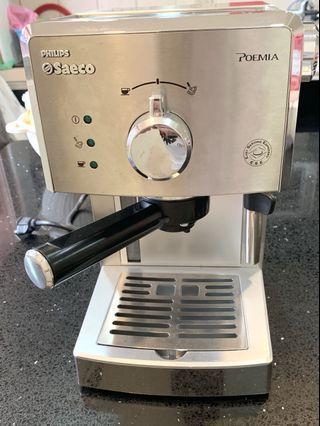 二手 PHILIPS Saeco POEMIA 半自動義式咖啡機(HD8327)