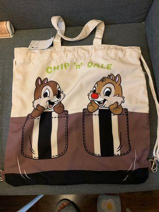 Chip and Dale backpack/側孭袋