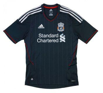 Authentic Liverpool 2011-12 Away Jersey Size L