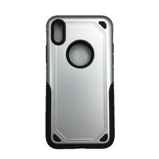 iPhone X Metallic Protective Phone Case