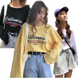 [PO] ulzzang california pullover