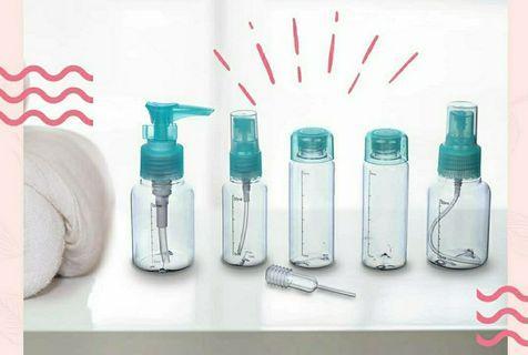 Travel bottle kits