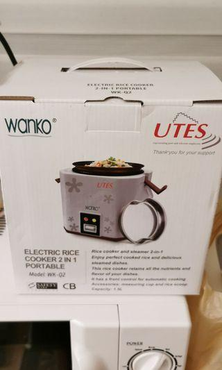 🚚 BNIB 2 in 1 Portable Rice cooker