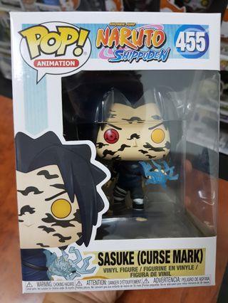 Funko Pop Animation Naruto Shippuden Sasuke (Curse Mark)