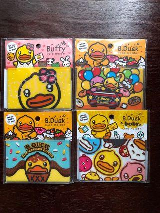 B. Duck octopus card holder unused