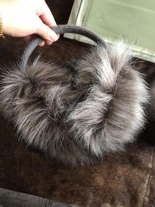 Faux Fur Ear Muffs with Tags (PRICE DROP)