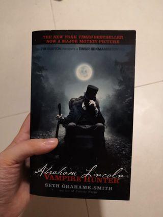 Abraham Lincoln: Vampire Hunter Novel 吸血鬼獵人:林肯總統小說