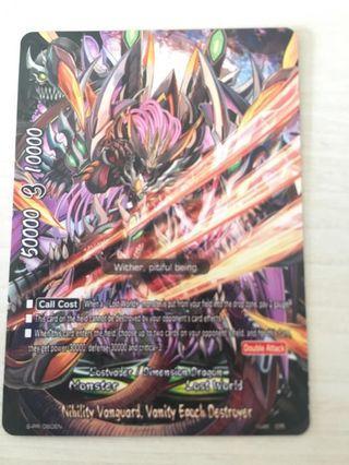 WTS buddyfight card